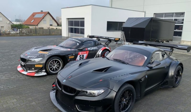 BMW Z4 GT3 RTR + Z4 GT3 Racetaxi + huge spare part package full