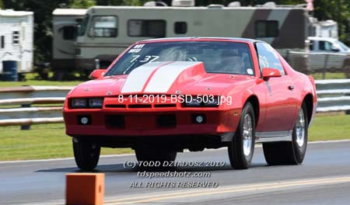 1983 Camaro drag race car full