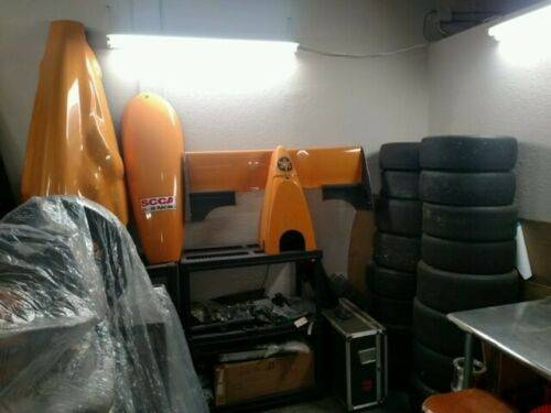 1998 TATUUS FC. / F.B (TWO CARS) COMPLETE RUNNING CARS. WITH EXTENSIVE SPARES PACKAGE. full